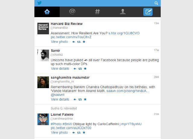 mejores sitios-a-marcador-lento-Internet-conexión-twitter-Mobile