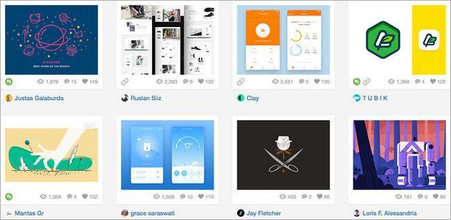 Creative-sociales-redes-dribbble