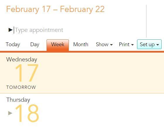 Calendario cozi