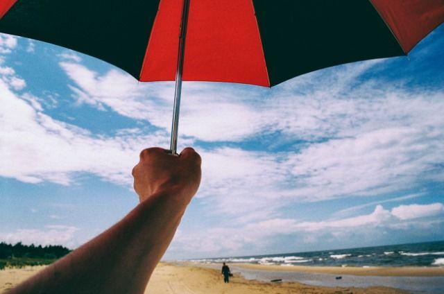 la planificación de viaje a la playa