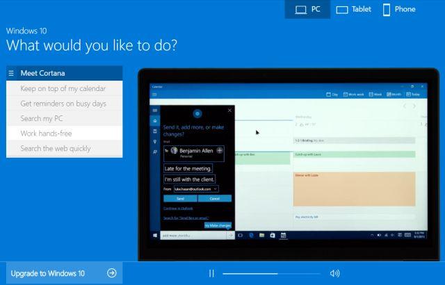 De Windows 10 Demo