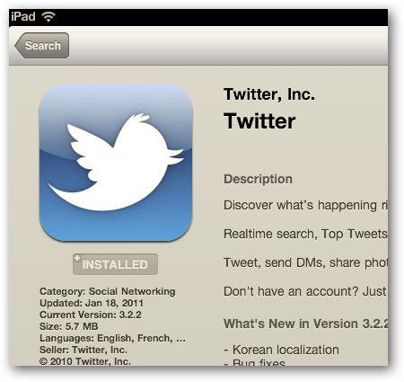 5 Grandes aplicaciones de twitter para el ipad
