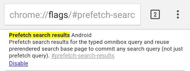 cromo-flags-prefetch-resultados-búsqueda-android