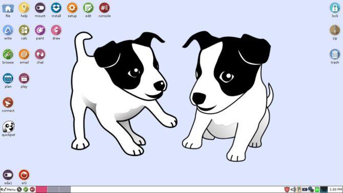 Puppy Linux de escritorio