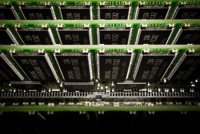 -Chips de memoria RAM