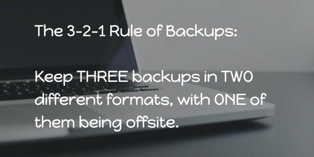3-2-1-regla