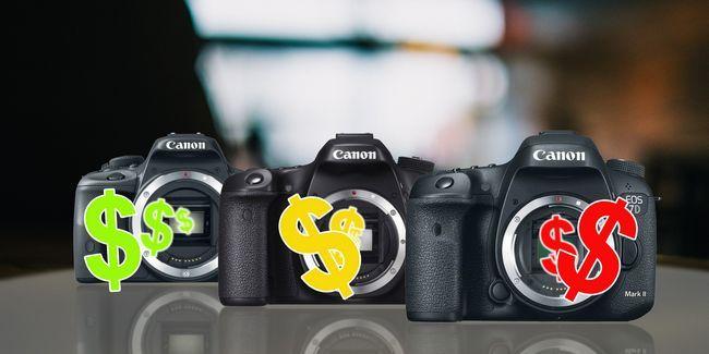 5 Consejos para ahorrar dinero que usted debe saber antes de comprar una réflex digital