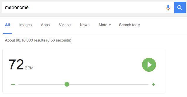 Google-Search-metrónomo