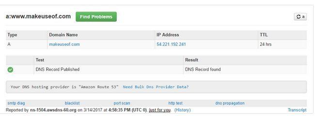 Registro DNS