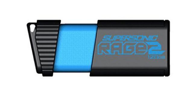 más rápido USB flash-conduce-patriota-supersónica-rabia-2-128gb