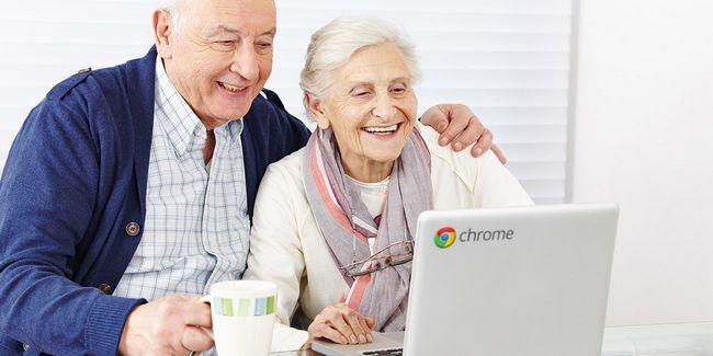 5 Razones chromebooks son el equipo perfecto para una persona de edad avanzada
