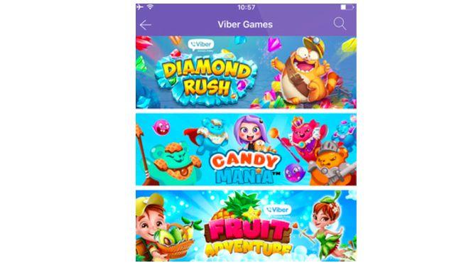 juegos de Viber