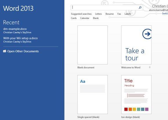 Office 2013 trucos