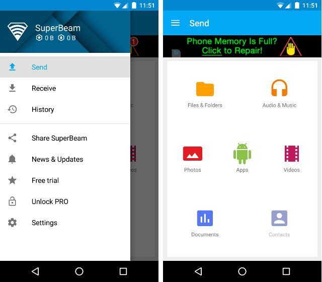 AndroidTransferApps-Superbeam
