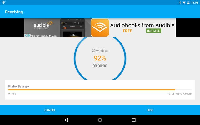 AndroidTransferApps-Superbeam-Recibir