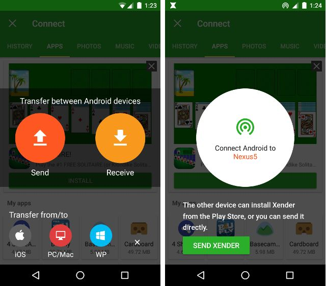 AndroidTransferApps-Xender
