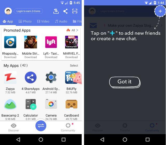 AndroidTransferApps-Zapya