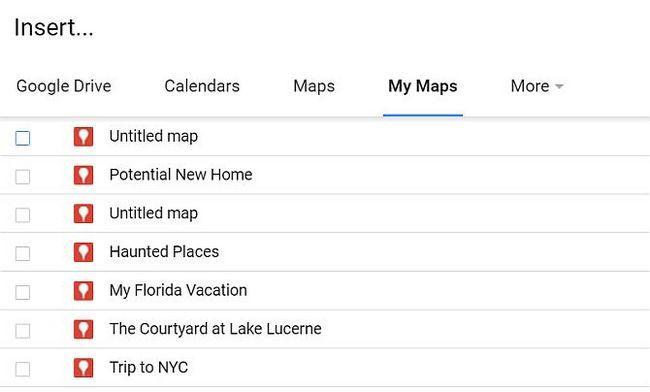 Inserción Diferentes mapas de Google