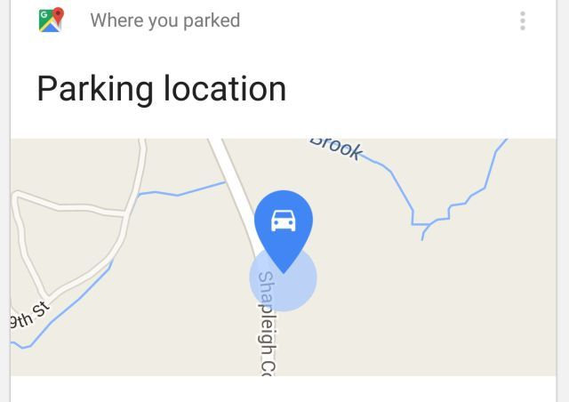 Google Maps parking Sitio