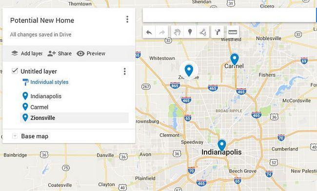 Google Drive Mapas nuevo hogar