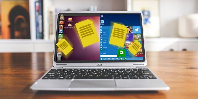 5 Maneras de compartir datos personales en linux-windows pc arranque dual