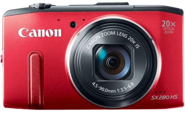 Lo mejor de apuntar y disparar-Cámaras-presupuesto-Compra-Canon Powershot-SX280;