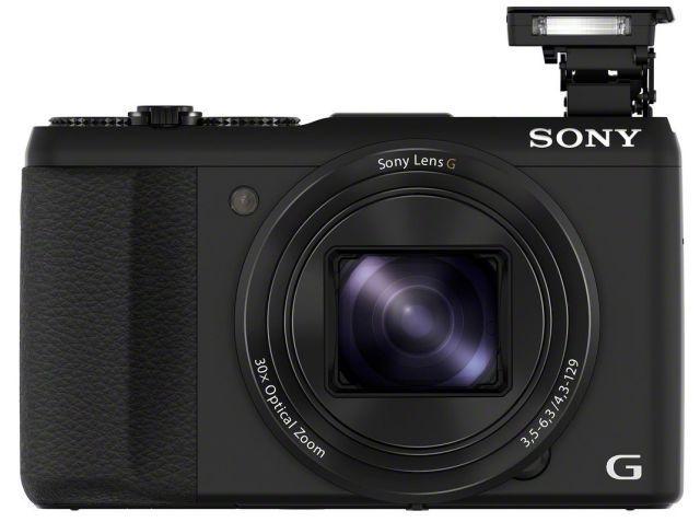 Lo mejor de apuntar y disparar-Cámaras-repleto de características Sony-Cyber-shot-HX50v