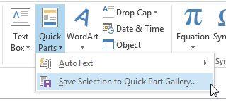 De Outlook Para QuickPart Galería