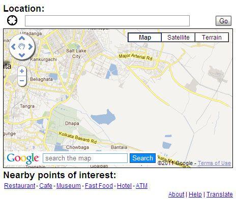 extensión mapa Google Chrome