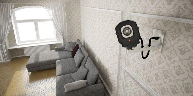 6 Creativo utiliza para cámaras de vigilancia inalámbrica en su casa