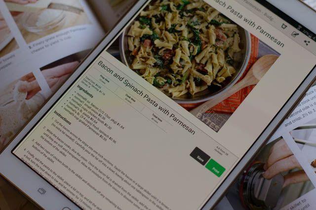 creativo-android-tablet-libro de cocina
