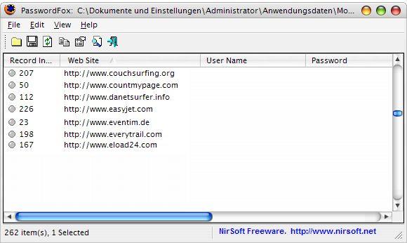 herramienta de recuperación de contraseñas gratuito para Windows XP