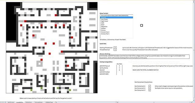 Juego EXLCOM Microsoft Excel XCOM