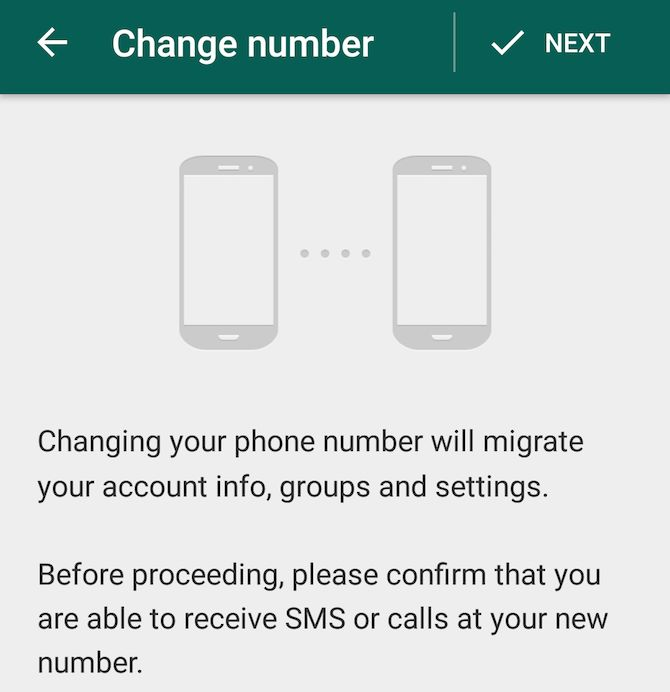Nueva función de WhatsApp: el número de modificación