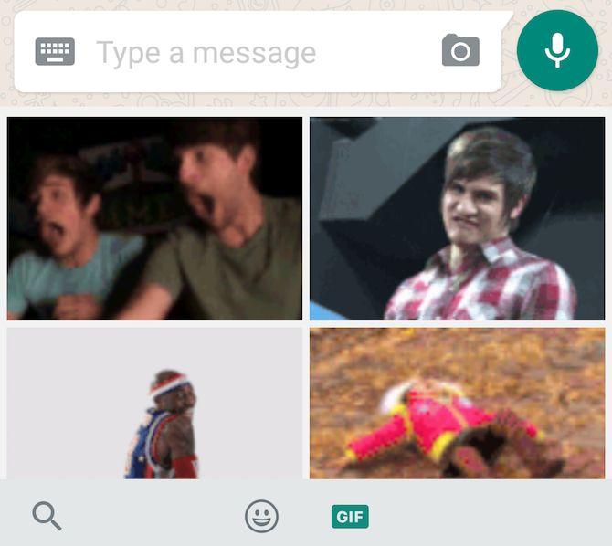 Nueva función de WhatsApp: buscar GIF