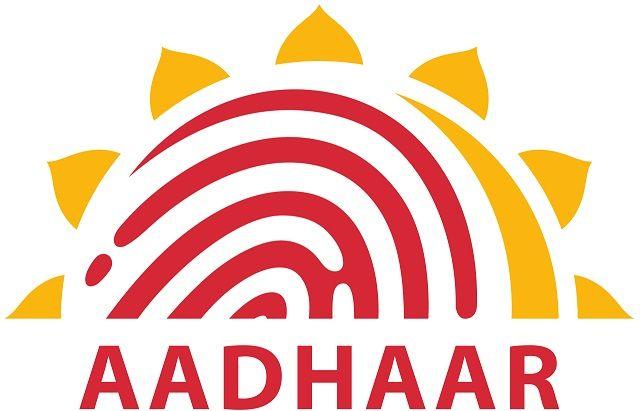Aadhaar-Logo de pantalla