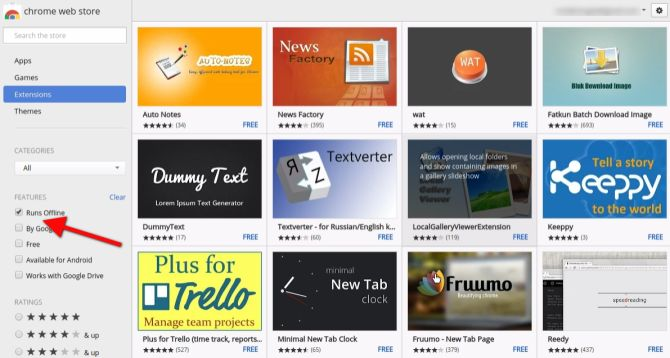 Chrome Web-Desconectado-Apps