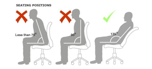 sentado correctamente