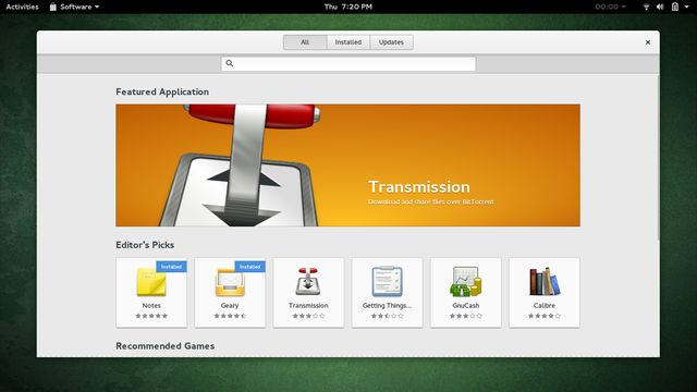 LinuxEasierSetupWindows-GNOME-Software