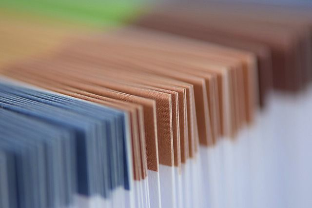 Carpetas de archivos