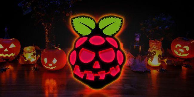 7 Apoyos de halloween asombrosas que usted puede hacer con una frambuesa pi