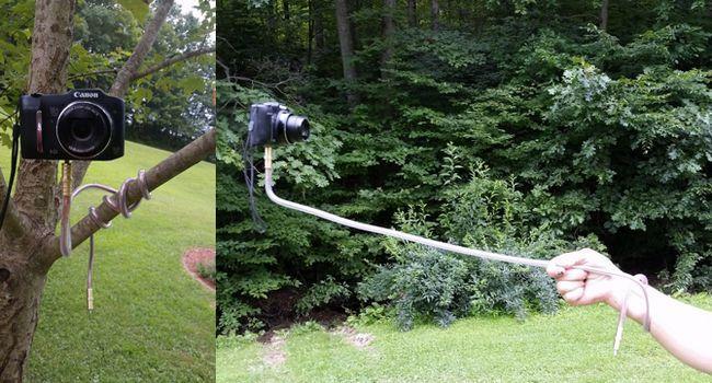 bricolaje soporte de la cámara flexibles
