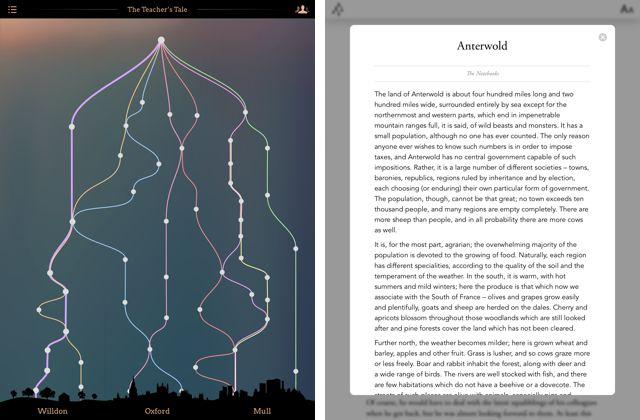 Arcadia en iOS