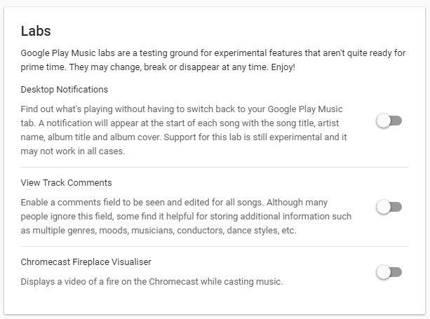 Google Labs juego de música