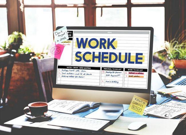 horario de trabajo en mac