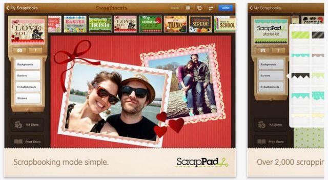 pantalla ScrapPad
