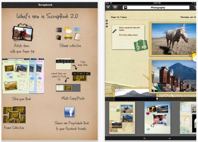 libro de recuerdos pantalla