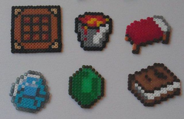 Minecraft-bricolaje-8bit-accesorios