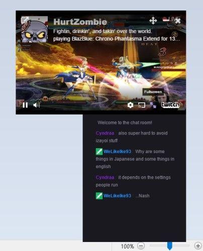 Twitch Mini Player2