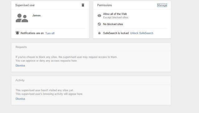 Google-Supervisado por el usuario de pantalla